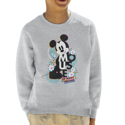 Disney Mickey Mouse Always In Style Kid's Sweatshirt - POD66