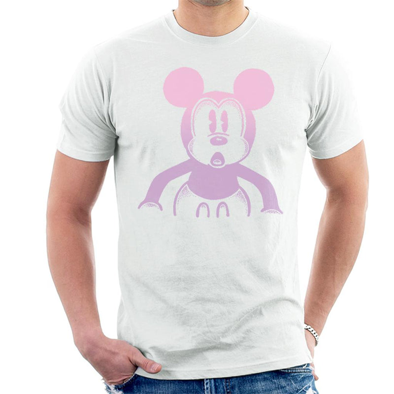 Disney Mickey Mouse Retro Silhouette Men's T-Shirt - POD66