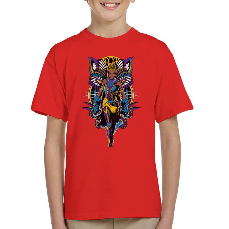 Marvel Black Panther Shuri Vibranium Gauntlet Comic Book Kid's T-Shirt - POD66