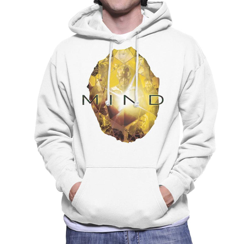 Marvel Avengers Infinity War Mind Stone Men's Hooded Sweatshirt - POD66