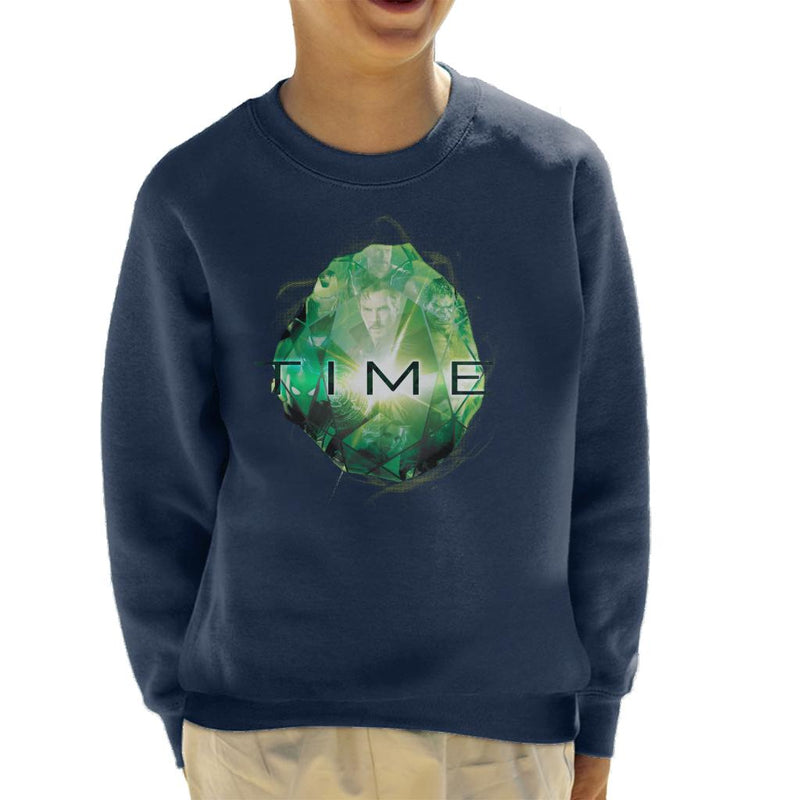 Marvel Avengers Infinity War Time Stone Kid's Sweatshirt - POD66