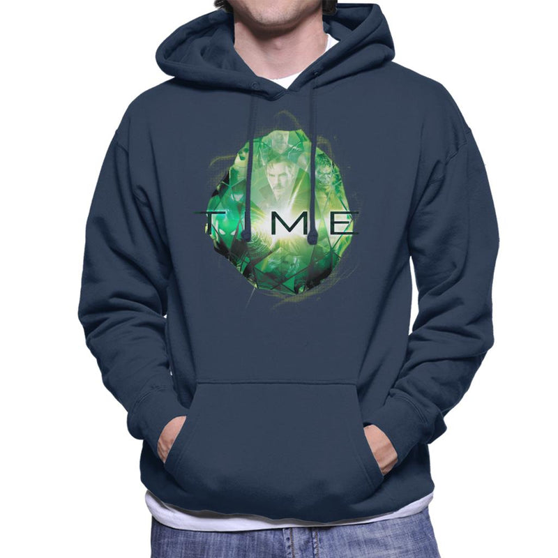 Marvel Avengers Infinity War Time Stone Men's Hooded Sweatshirt - POD66