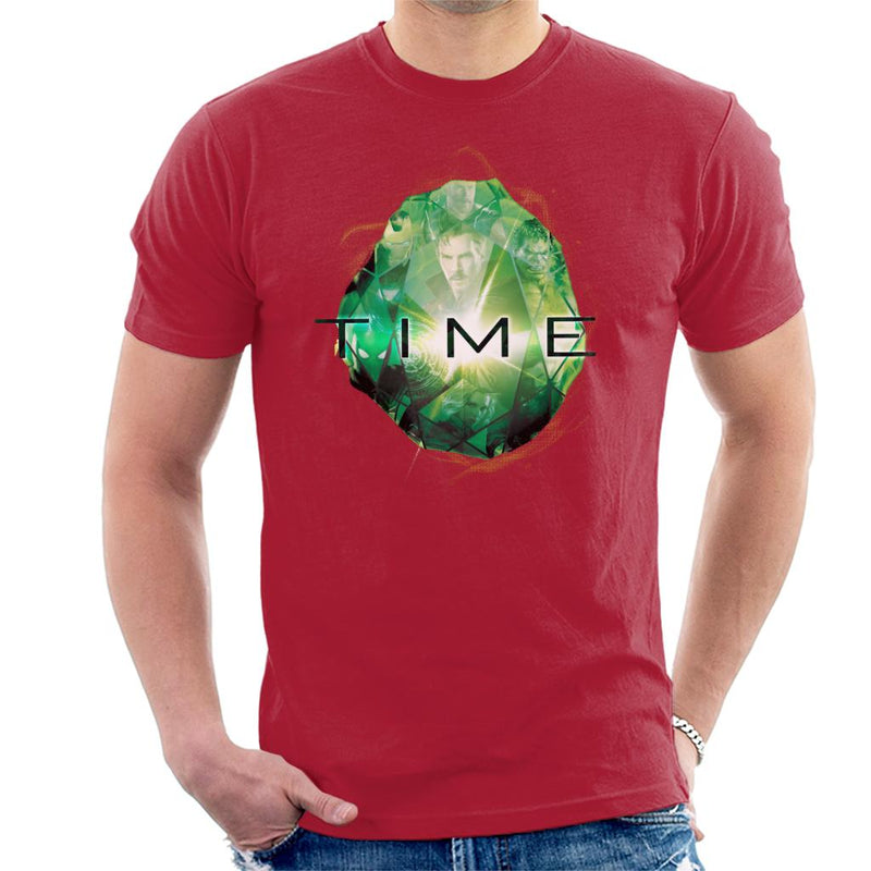 Marvel Avengers Infinity War Time Stone Men's T-Shirt - POD66