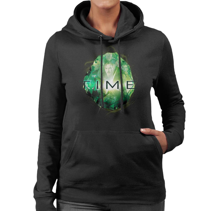 Marvel Avengers Infinity War Time Stone Women's Hooded Sweatshirt - POD66