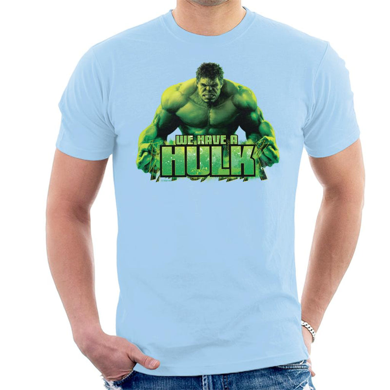 Marvel Avengers We Have A Hulk Men's T-Shirt - POD66