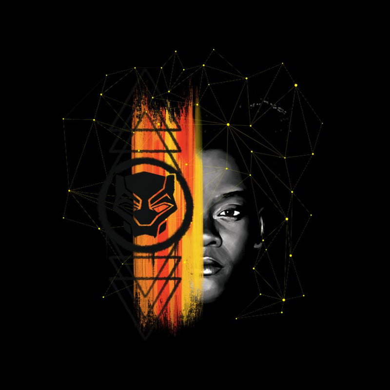 Marvel Black Panther Shuri Half Face Paint - POD66