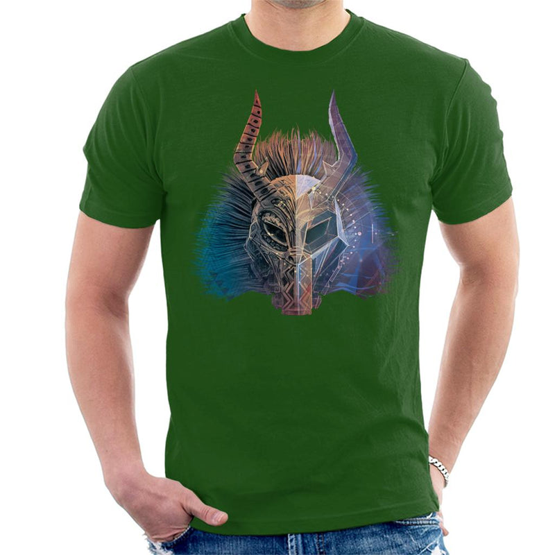 Marvel Black Panther Killmonger Mask Men's T-Shirt - POD66