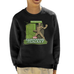 Marvel Guardians Of The Galaxy Groot Rage Kid's Sweatshirt - POD66