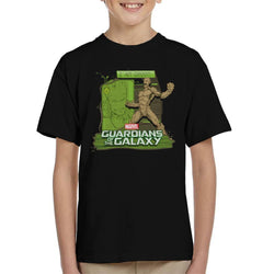 Marvel Guardians Of The Galaxy Groot Rage Kid's T-Shirt - POD66