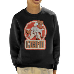 Marvel Guardians Of The Galaxy Comic Cosmo Kid's Sweatshirt - POD66