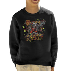Marvel Guardians Of The Galaxy Rocket Raccoon Scream Kid's Sweatshirt - POD66