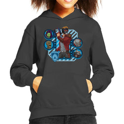 Marvel Guardians Of The Galaxy Cartoon Heads Kid's Hooded Sweatshirt - POD66
