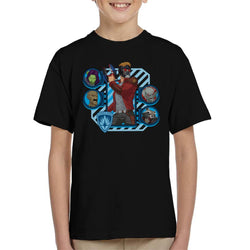 Marvel Guardians Of The Galaxy Cartoon Heads Kid's T-Shirt - POD66