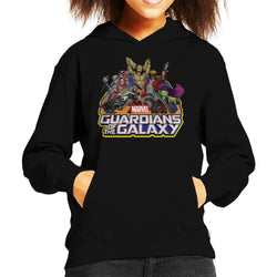 Marvel Guardians Of The Galaxy Attack Kid's Hooded Sweatshirt - POD66