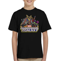 Marvel Guardians Of The Galaxy Attack Kid's T-Shirt - POD66