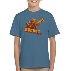 Marvel Guardians Of The Galaxy Rocket Raccoon Dichromatic Kid's T-Shirt - POD66