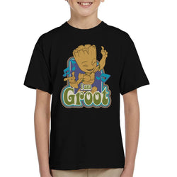 Marvel Guardians Of The Galaxy I Am Groot Dance Kid's T-Shirt - POD66
