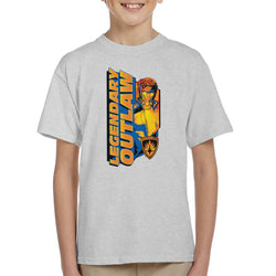 Marvel Guardians Of The Galaxy Legendary Outlaw Star Lord Kid's T-Shirt - POD66