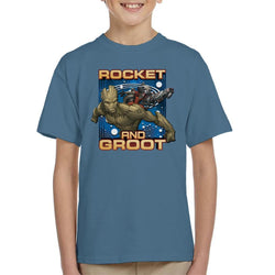 Marvel Guardians Of The Galaxy Rocket And Groot Kid's T-Shirt - POD66