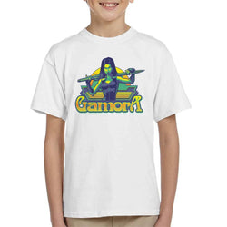 Marvel Guardians Of The Galaxy Gamora Sword Pose Kid's T-Shirt - POD66