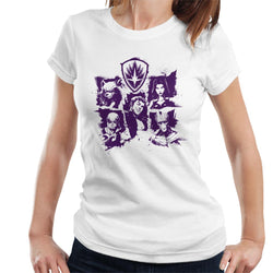 Marvel Guardians Of The Galaxy Smiles Paint Women's T-Shirt - POD66