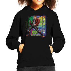 Marvel Guardians Of The Galaxy Star Lord Lets Rock This Kid's Hooded Sweatshirt - POD66