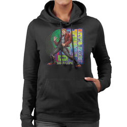 Marvel Guardians Of The Galaxy Star Lord Lets Rock This Women's Hooded Sweatshirt - POD66