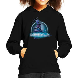 Marvel Guardians Of The Galaxy Nebula Batons Pose Kid's Hooded Sweatshirt - POD66