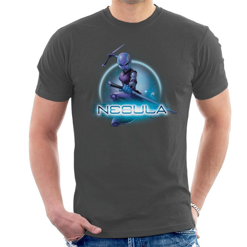 Marvel Guardians Of The Galaxy Nebula Batons Pose Men's T-Shirt - POD66