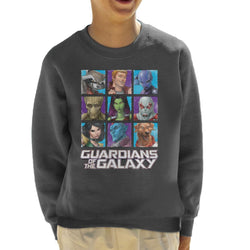 Marvel Guardians Of The Galaxy Extended Crew Kid's Sweatshirt - POD66