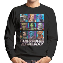 Marvel Guardians Of The Galaxy Extended Crew Men's Sweatshirt - POD66