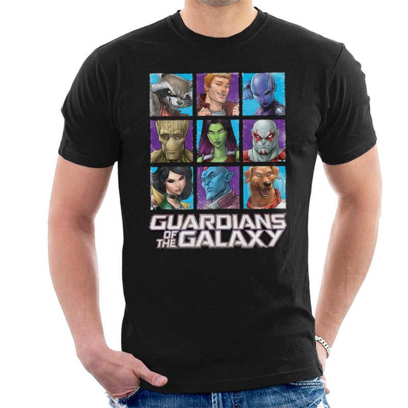 Marvel Guardians Of The Galaxy Extended Crew Men's T-Shirt - POD66
