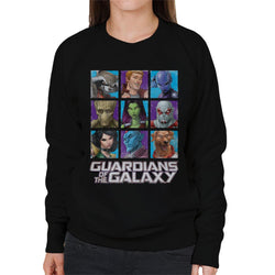 Marvel Guardians Of The Galaxy Extended Crew Women's Sweatshirt - POD66