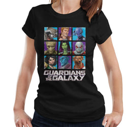Marvel Guardians Of The Galaxy Extended Crew Women's T-Shirt - POD66