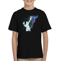 Marvel Guardians Of The Galaxy Star Lord Stellar Silhouette Kid's T-Shirt