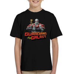 Marvel Guardians Of The Galaxy Drax And Baby Groot Kid's T-Shirt