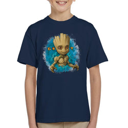 Marvel Guardians Of The Galaxy Groot Eyes Kid's T-Shirt