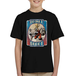 Marvel Guardians Of The Galaxy Rocket Groot Kid's T-Shirt
