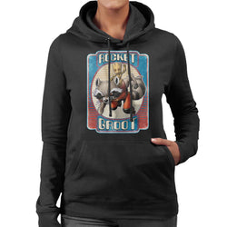 Marvel Guardians Of The Galaxy Rocket Groot Women's Hooded Sweatshirt