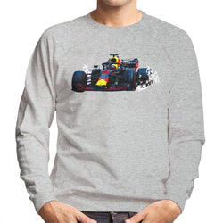 Motorsport Images Daniel Ricciardo Red Bull RB14 Mexican GP 2018 Men's Sweatshirt - POD66