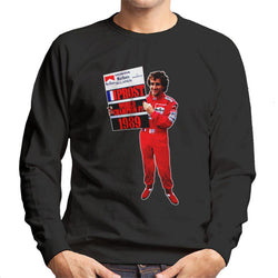 Motorsport Images Alain Prost Formula One World Championship 1989 Men's Sweatshirt - POD66