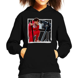 Motorsport Images Alain Prost F1 World Championship Kid's Hooded Sweatshirt - POD66