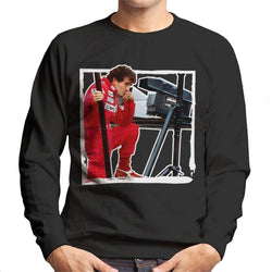 Motorsport Images Alain Prost F1 World Championship Men's Sweatshirt - POD66