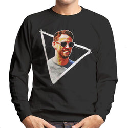 Motorsport Images Jenson Button Sunglasses Monaco GP 2017 Men's Sweatshirt - POD66