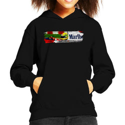 Motorsport Images Ayrton Senna McLaren MP46 At Hungarian GP Kid's Hooded Sweatshirt - POD66
