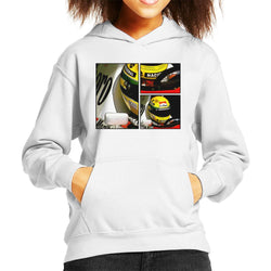Motorsport Images Ayrton Senna McLaren Circuito Estoril Frame Art Kid's Hooded Sweatshirt - POD66