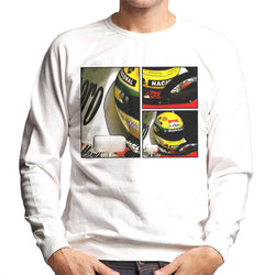 Motorsport Images Ayrton Senna McLaren Circuito Estoril Frame Art Men's Sweatshirt