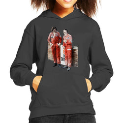 Motorsport Images James Hunt & Niki Lauda South African GP 1976 Kid's Hooded Sweatshirt - POD66