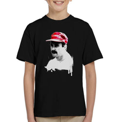 Motorsport Images Nigel Mansell At Monte Carlo 1992 Kid's T-Shirt - POD66