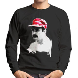 Motorsport Images Nigel Mansell At Monte Carlo 1992 Men's Sweatshirt